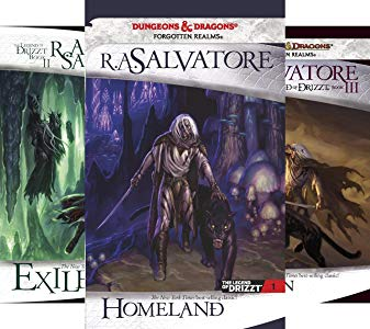 Book Review: The Dark Elf Trilogy by R  A  Salvatore – Lara's Wanderings